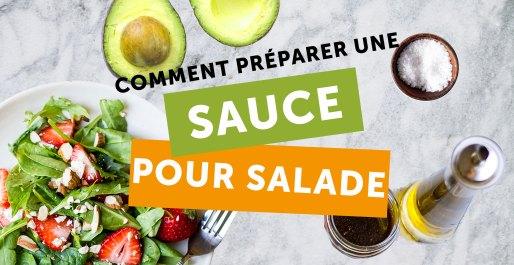 comment preparer une sauce pour salade