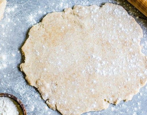 Pâte à tarte de blé entier